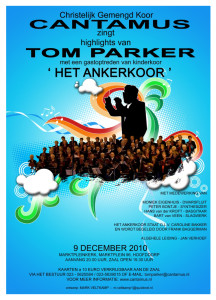 CANTAMUS ZINGT HIGHLIGHTS VAN TOM PARKER9 december 2010